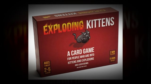 Exploding Kitten http//amzn.to/2apIaAQ A Card Game About