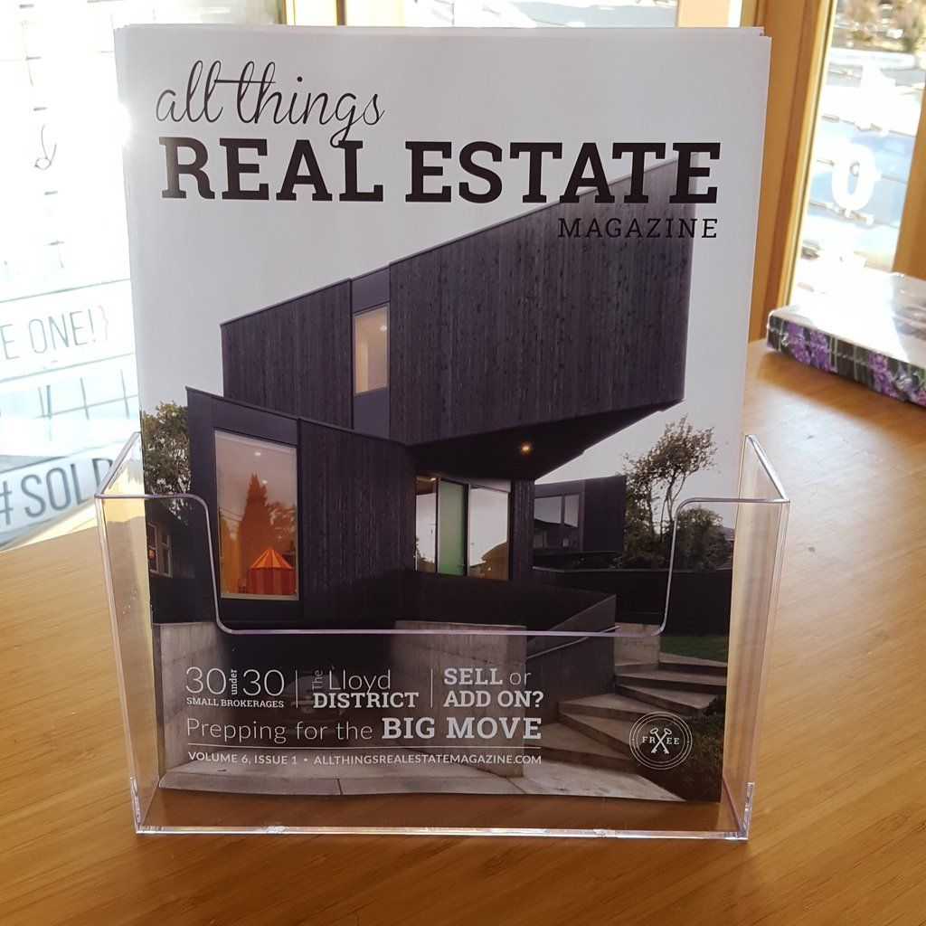 Countertop Flyer Holder Magazine Holders Real Estate Open House