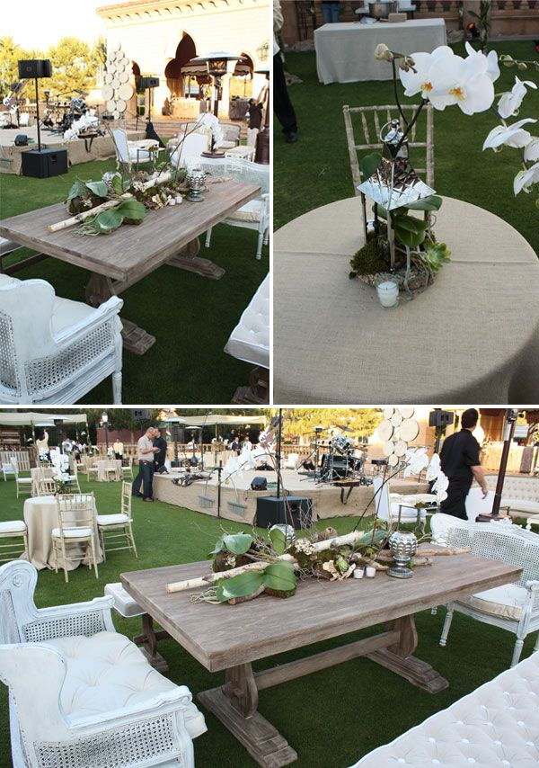 like the burlap table coverings | Outdoor wedding, Floral, Reception
