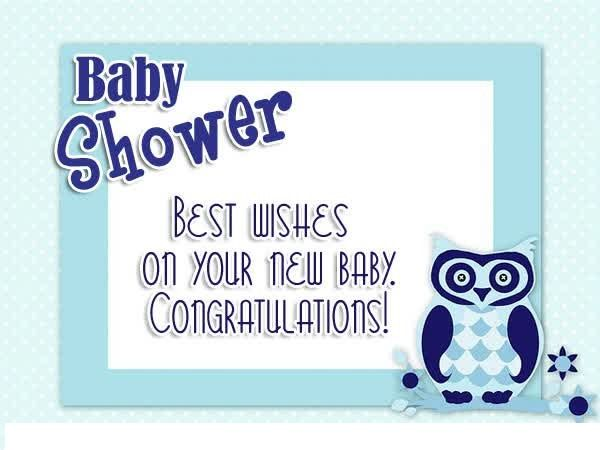 Marvelous Baby Shower Card Message For Ideas