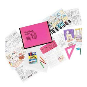 Interior Design Kit For Kids Top Ten Gifts Budding Artists Kid Friendly Pinterest