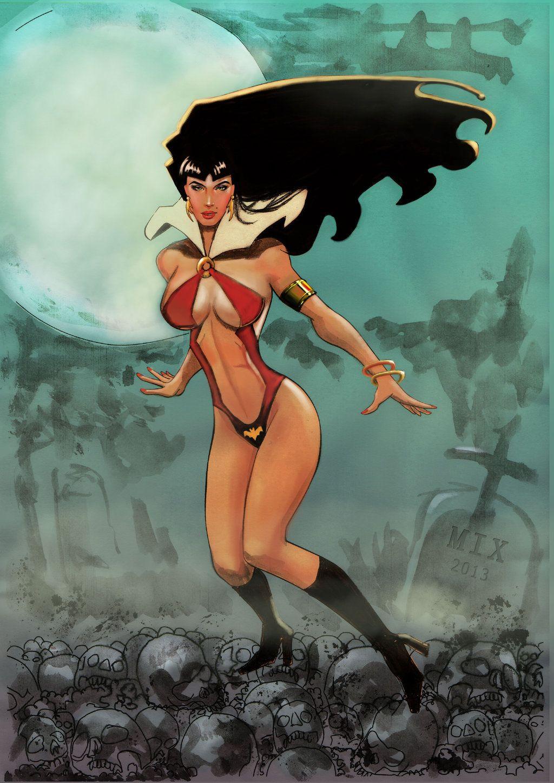 Vampirella  Final by MixGray.deviantart.com on @deviantART