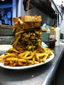 Ripps Grille The Animal House Restaurant Food Challenge Dog Food