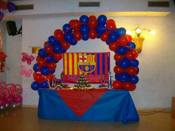 Decoraci n barcelona f tbol decoraci nes cumplea os infantiles en 2019 pinterest - Lucio barcelona decoracion ...
