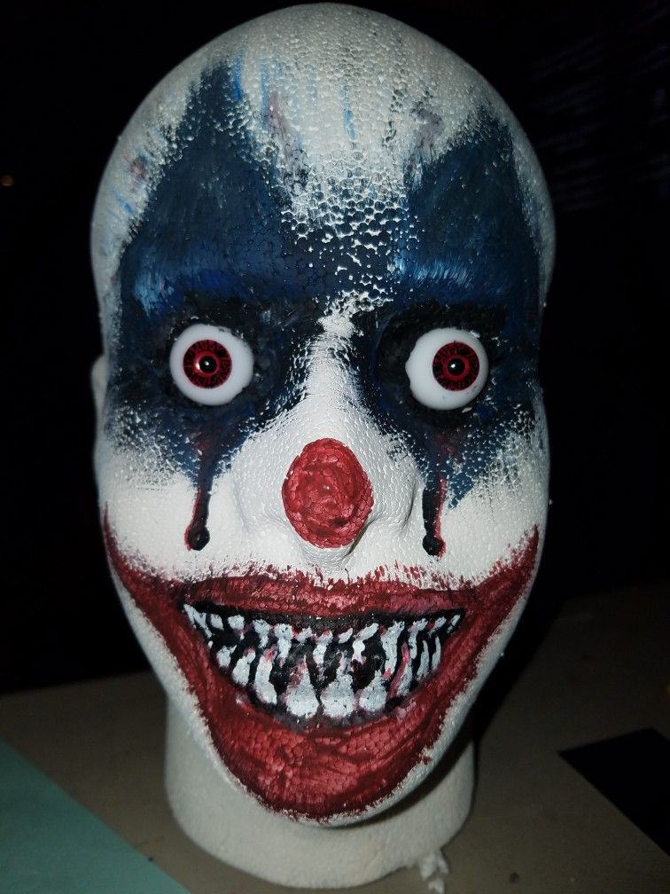 Add a clown wig and start the fright! Clown wig