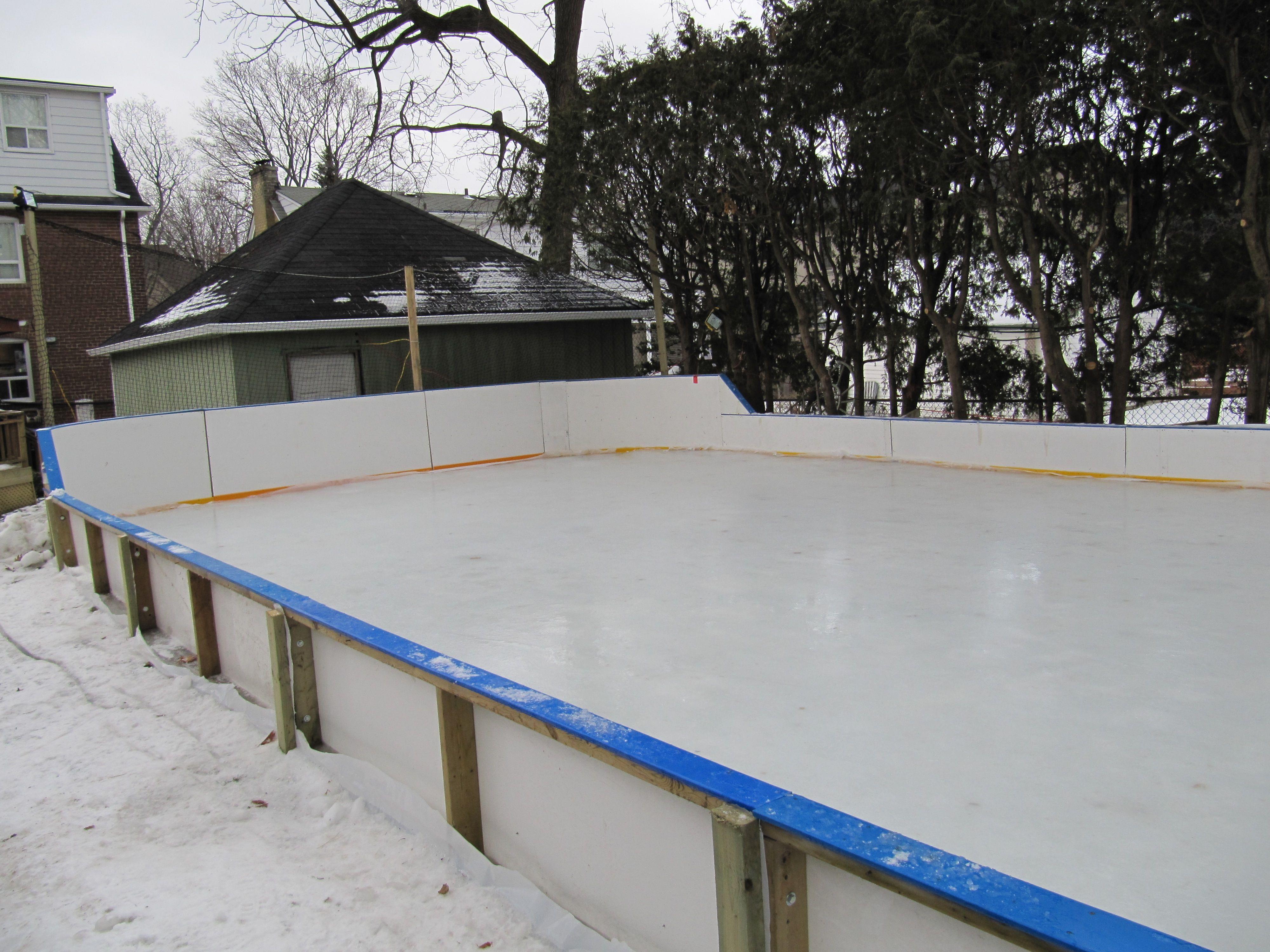 Pin by REXIS Design on Backyard Hockey Rink   Backyard ...