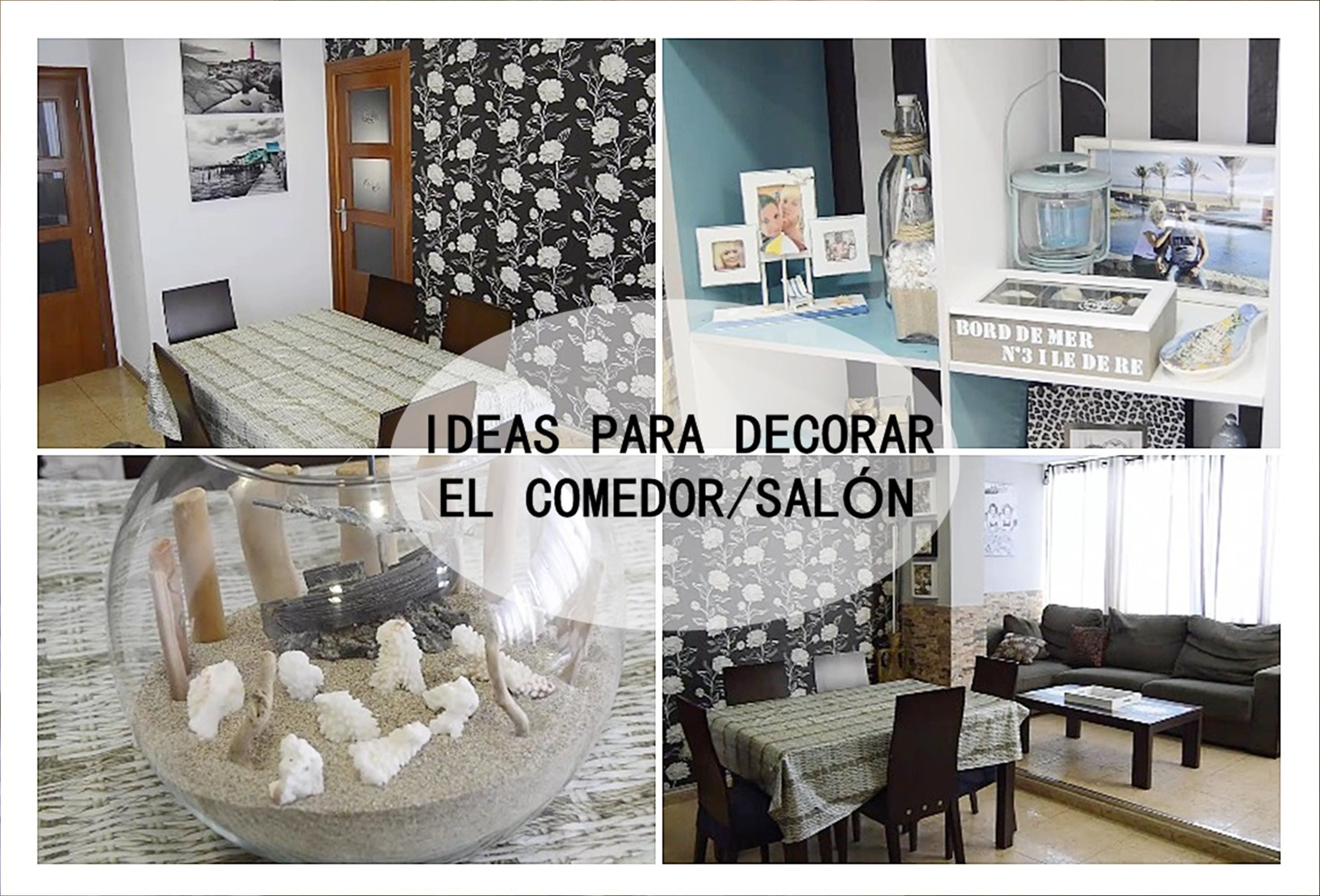 IDEAS PARA DECORAR COMEDOR/SALÓN | ideas creativas | Pinterest