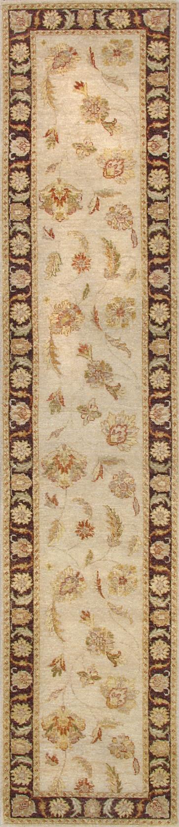 Varsari Beige Brown Wool  Rug VRS10408
