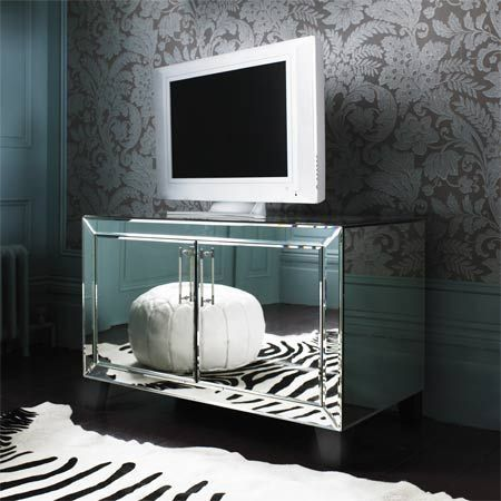 Shop Isabelle Mirrored Media Cabinet At Interiors Online. Exclusive High  End Furniture.