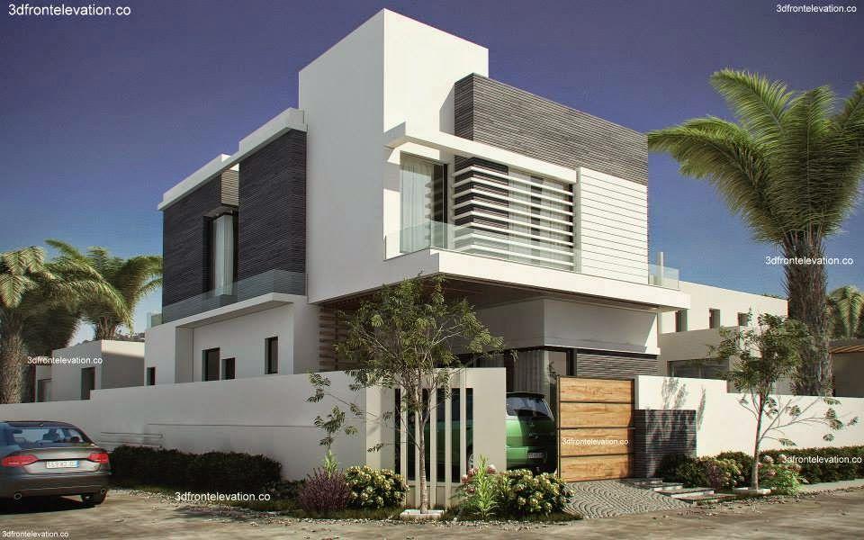 marla house plan elevation design images in pakistan also dream land rh uk pinterest