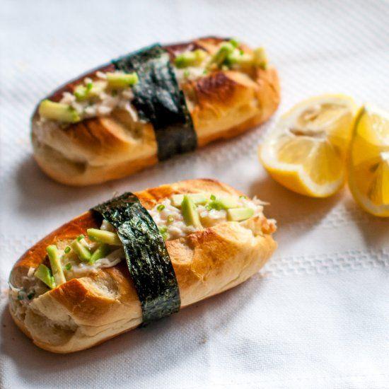 California Brioche Rolls Japanese Fusion Food Crab -1211