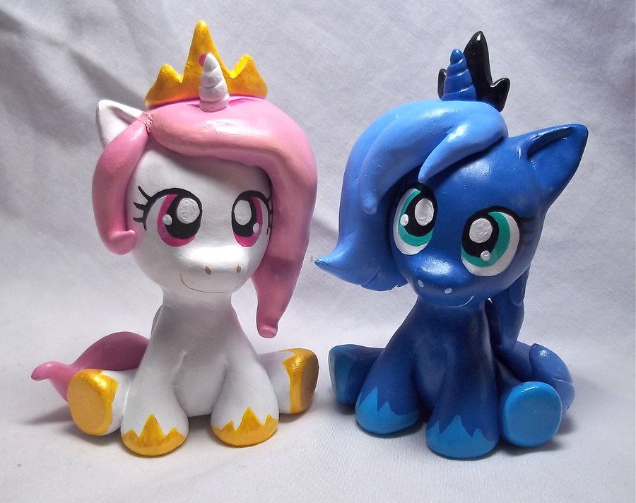 Royal Sisters Sculpts by CadmiumCrab.deviantart.com on @DeviantArt