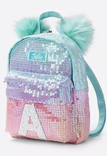 Backpacks 57917  Nwt Justice Girls Ombre Initial Mini Backpack Sequin  Accessory Purse Initial J -  BUY IT NOW ONLY   30 on eBay! c63ce3576efa3