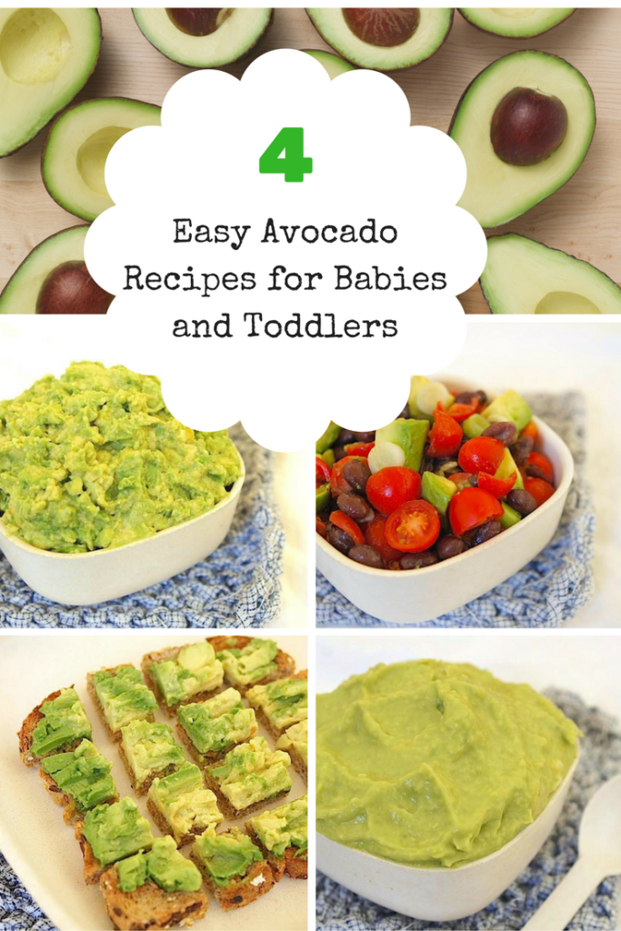 4 easy hass avocado recipes for babies and toddlers easy babies spon beginners guacamole toddler toast and other easy ideas for prepping avocados for your little ones moms kitchen handbook forumfinder Images