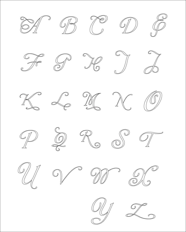 Quilled Paper Script Letter Monogram Wall Art - Choose Your Color ...