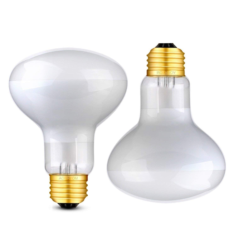 Aomryom 2 Pack 100w Uva Basking Spot Lamp Soft White Light Heat Bulb Reptiles Amphibians Use Ad Basking Sponsored Spot Lamp Bulb Bulb Heat Lamp Bulbs