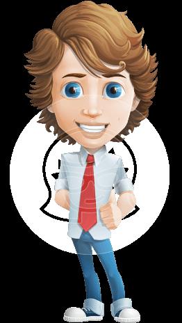 Vector Man Cartoon Character Graphicmama Cartoon Character Design Cartoon Characters Cartoon Hair