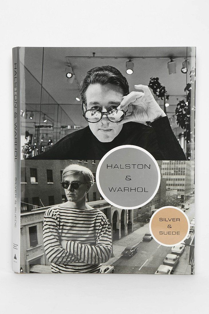 Halston And Warhol: Silver And Suede By The Andy Warhol