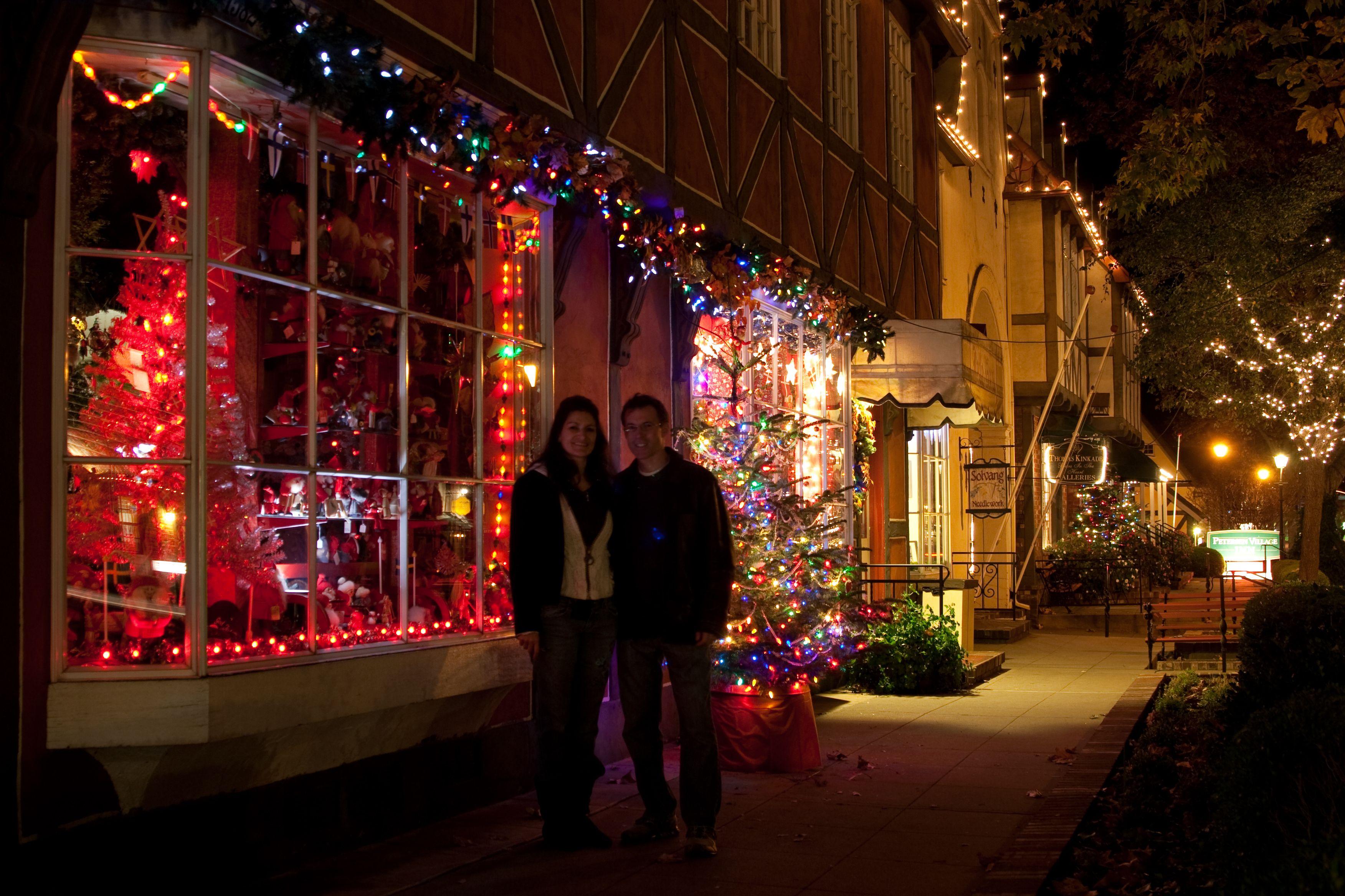 Solvang Ca Christmas.Chris Cheryl Price Christmas Decor In Solvang Ca