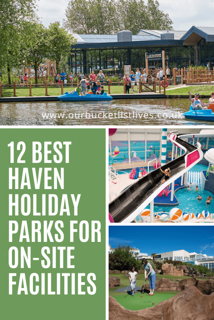 12 Best Haven Holiday Parks For On Site Facilities Our Bucket List Lives In 2020 Holiday Park Caravan Park Bucket List Life