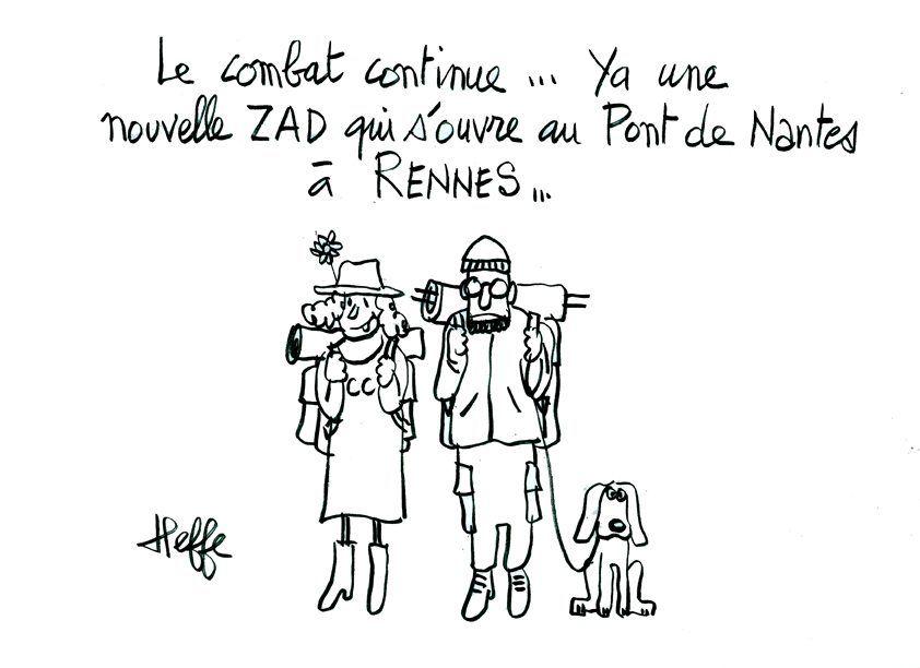 Aéroport Notre-Dame-des-Landes : la lutte des zadistes continue ! - http://www.unidivers.fr/aeroport-notre-dame-des-landes-referendum/ - Environnement, Nantes