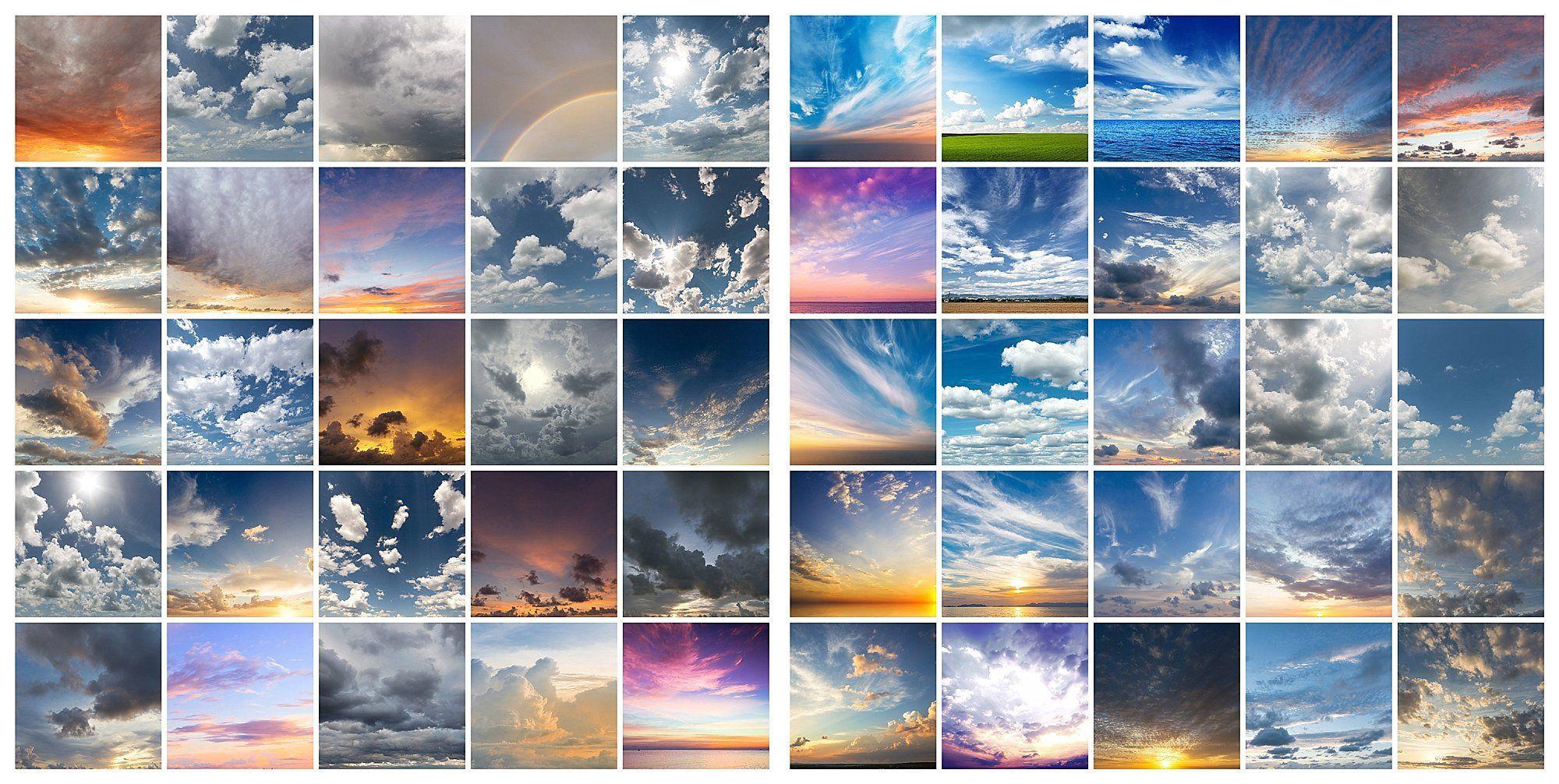 Sky overlays for lightroom