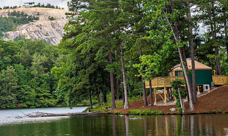 Stone Mountain Park | Stone mountain park, Mountain park ...