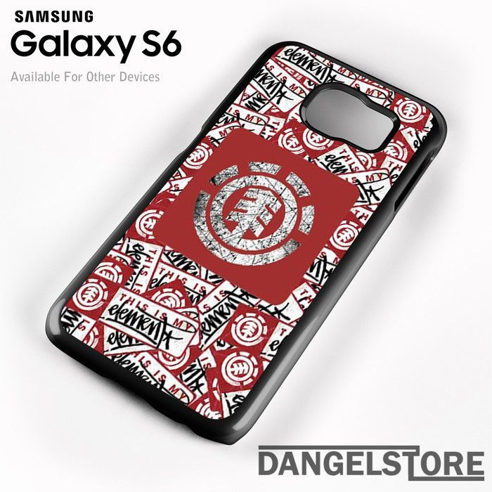 Element Skateboard Logo Collage For Samsung S6 Case