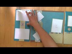 18efc94cd9e0 How to use CTMH Flip Flaps on your Scrapbook Layouts - YouTube