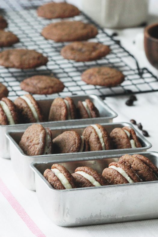 GINGER SANDWICH COOKIES WITH CREAM CHEESE FILLING   - Recipes