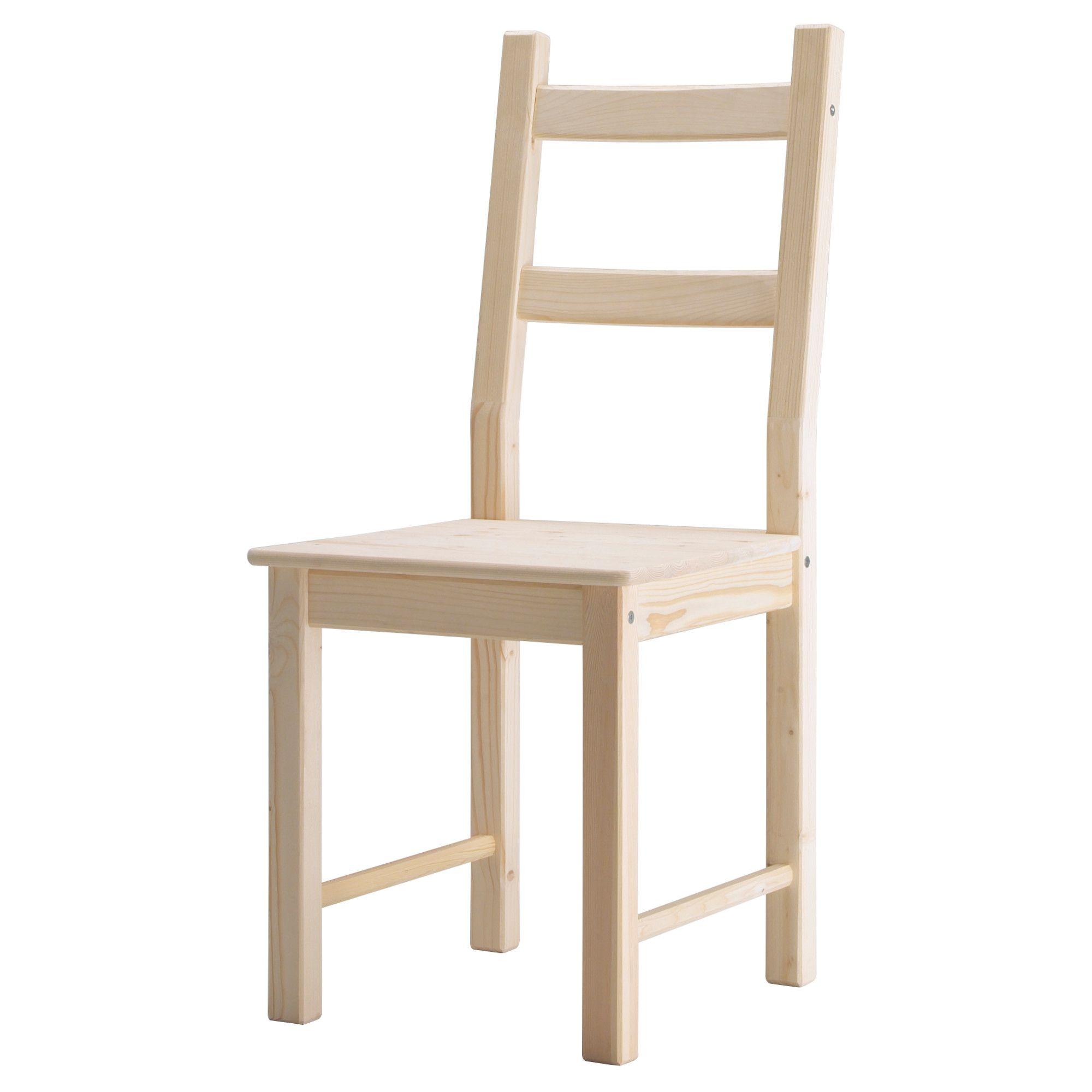 Ikea IVAR Chair 681 560 09 pine $39 99 Solid wood durable