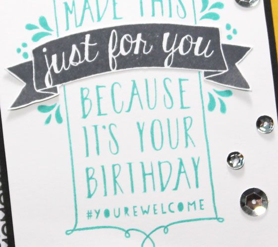 Design Your Own Birthday Card Using Balloon Bash Stampin Up