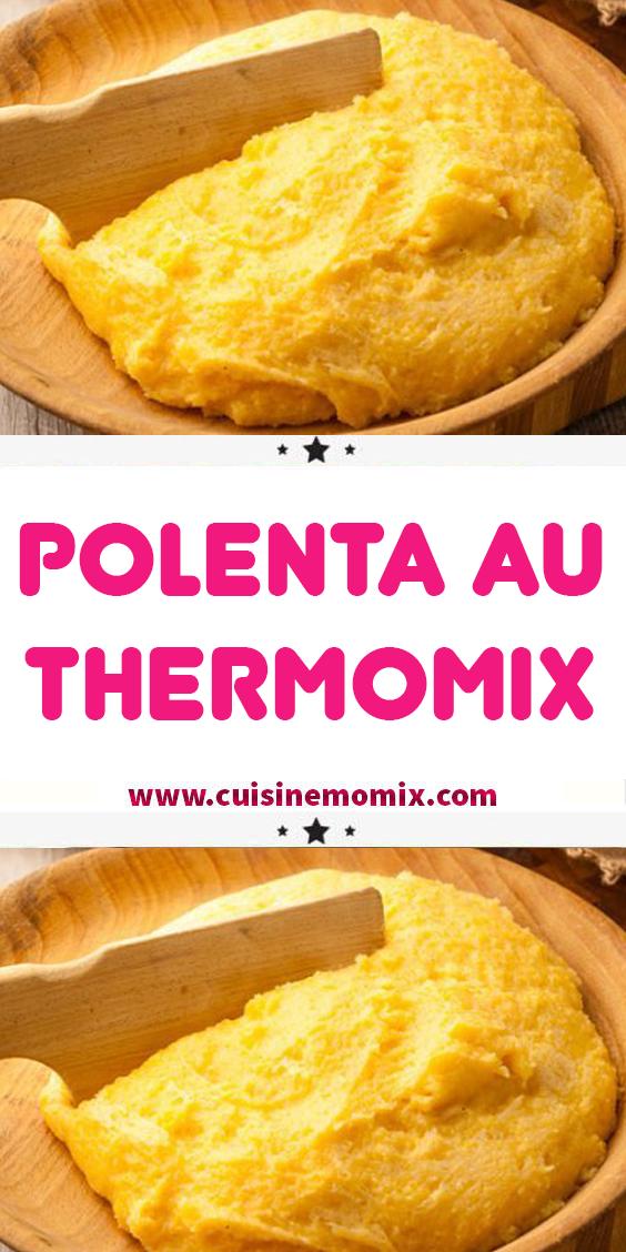 Polenta au Thermomix