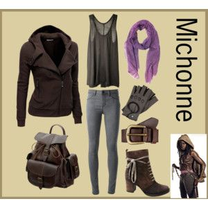 The Walking Dead inspired outfits by Midwest Moxie