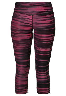 9dedaa97a1d75d PRINTED DRI-FIT EPIC RUNNING - Leggings - hot pink/black/black ...