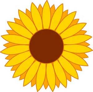 sunflower clip art yahoo image search results misc rh pinterest ie sunflower clipart in microsoft word sunflower clip art black and white