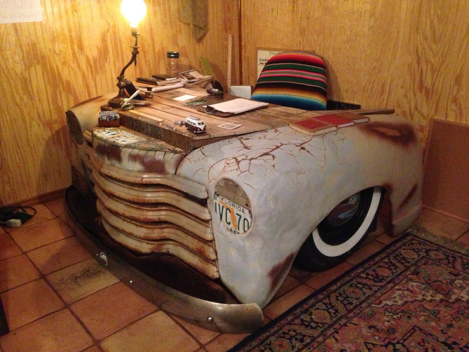 Beautiful Truck Desk 51 Chevy