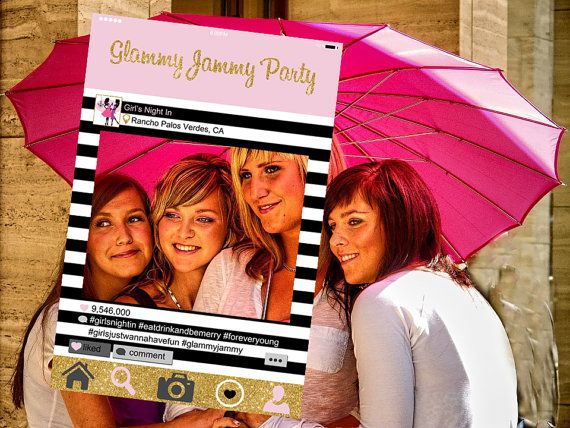 Instagram Style Frame Customized Girls Night Out Girls Night
