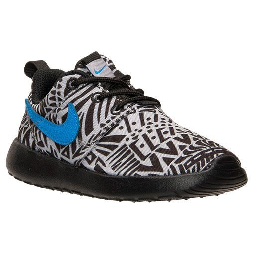 Boys' Toddler Nike Roshe One Print Casual Shoes - 677783 005 | Finish Line