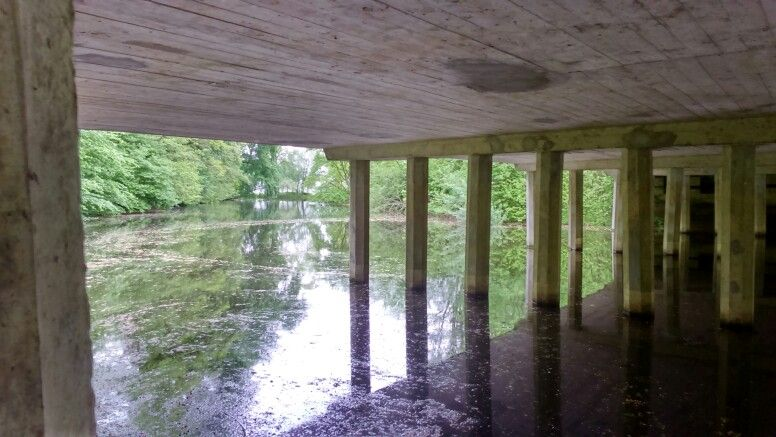 Paadje onder de brug Deventerweg