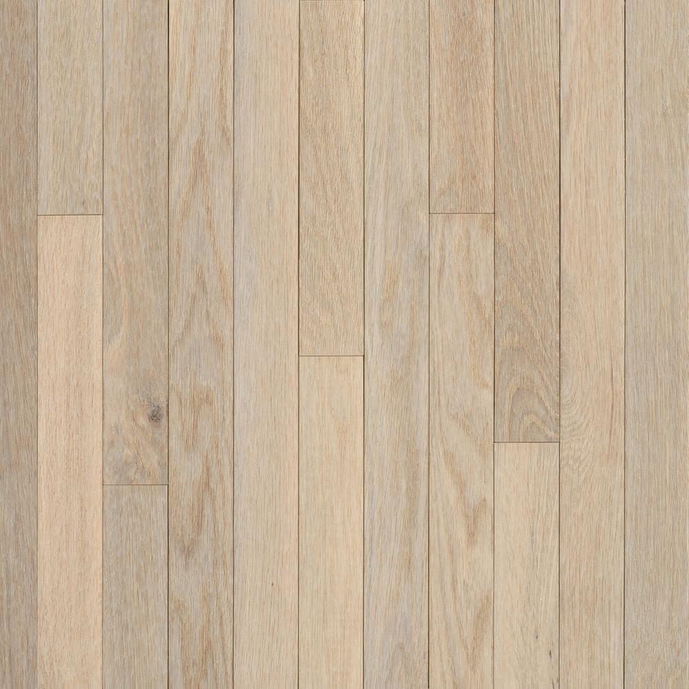Bruce Hardwood 3 1 4 Inch X 3 4 Inch Ao Oak Sugar White Solid Wood Floor 22 Sq Ft White Oak Hardwood Floors Solid Hardwood Floors Oak Hardwood Flooring