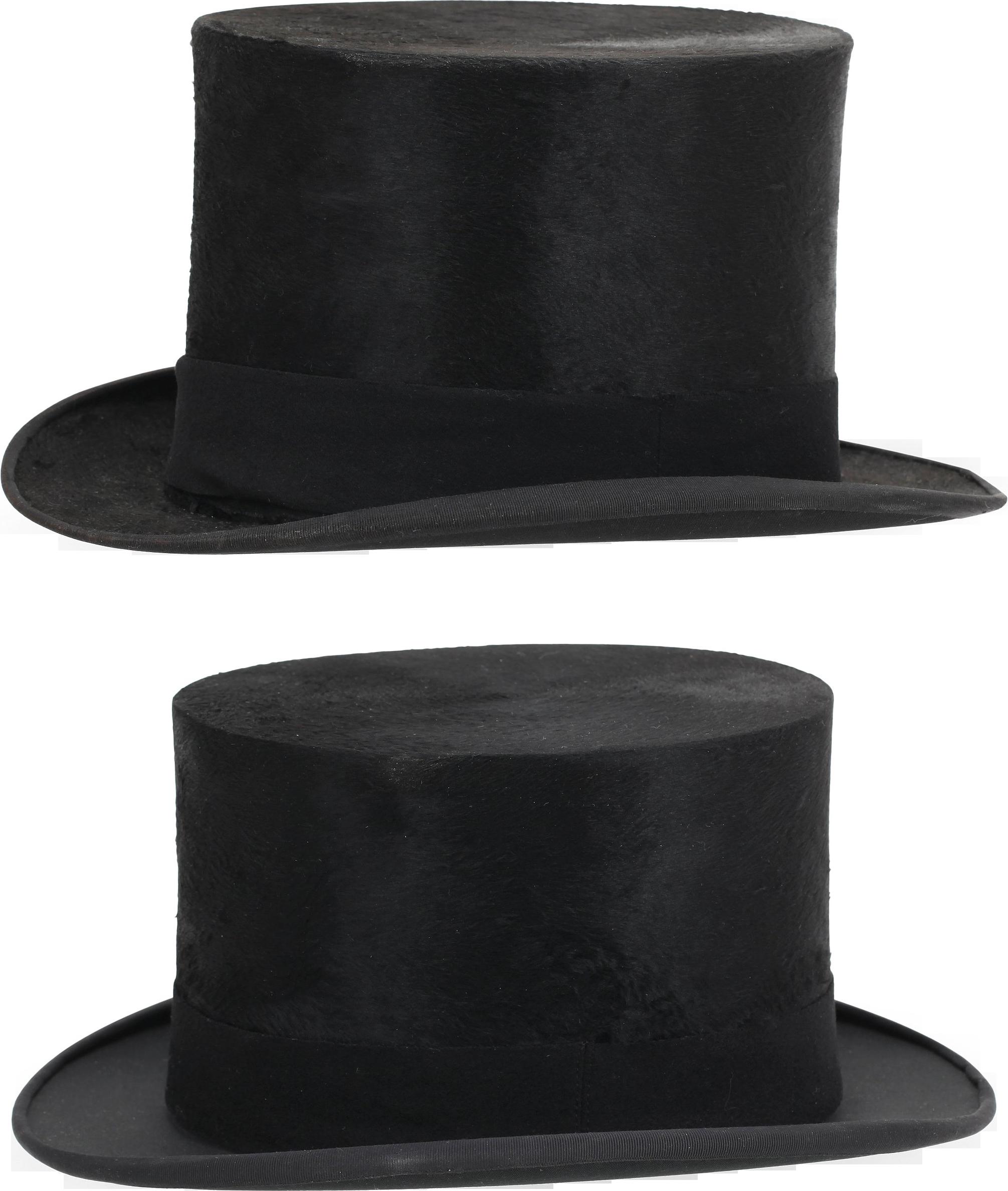 Two Black Hat Png Image Black Hat Hats Black