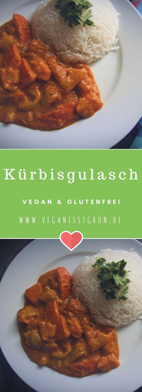 Photo of Einfaches Kürbisgulasch vegan und glutenfrei | Vegane Rezepte