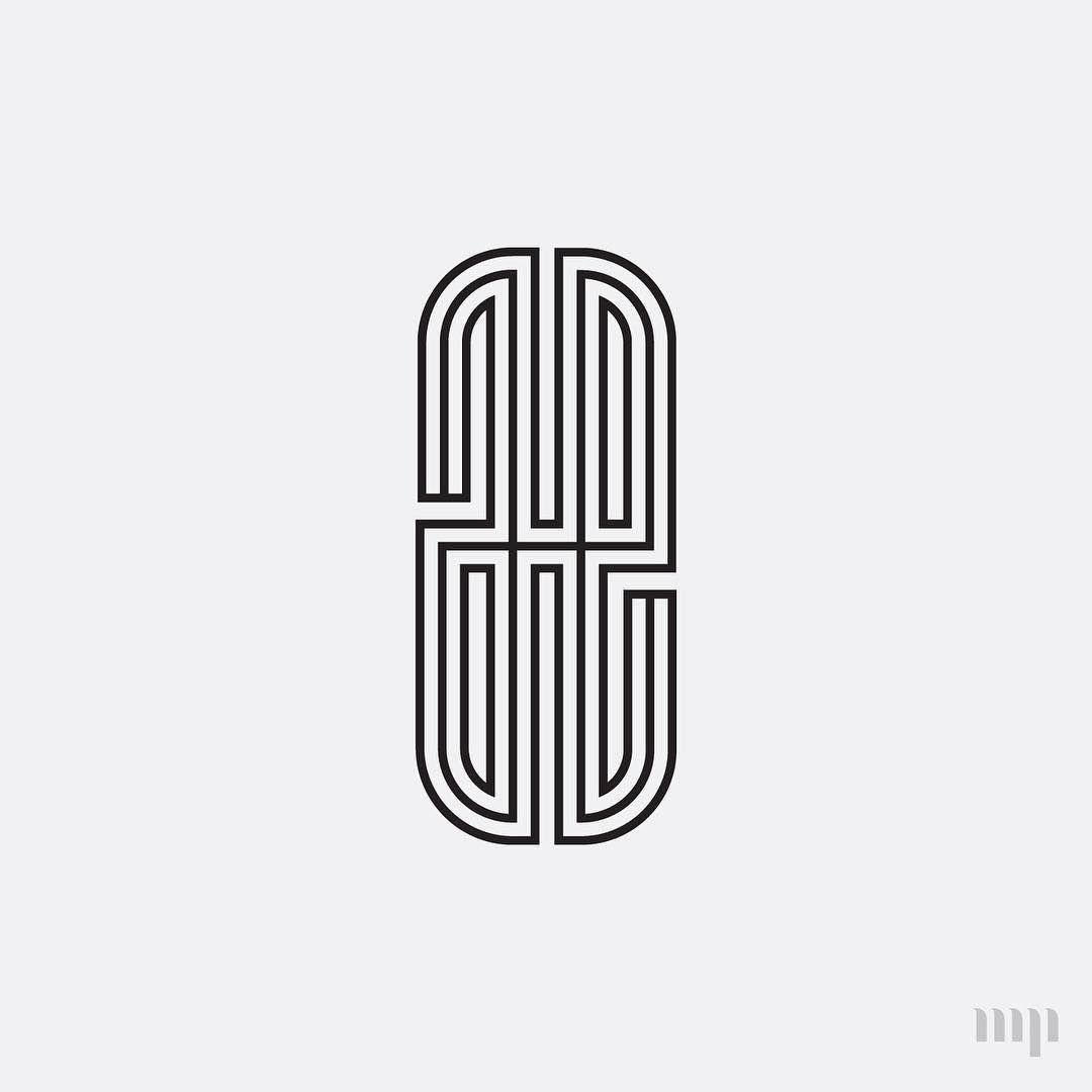 Ae Monogram By Hope Meng Design Www Hopemeng Com Typography