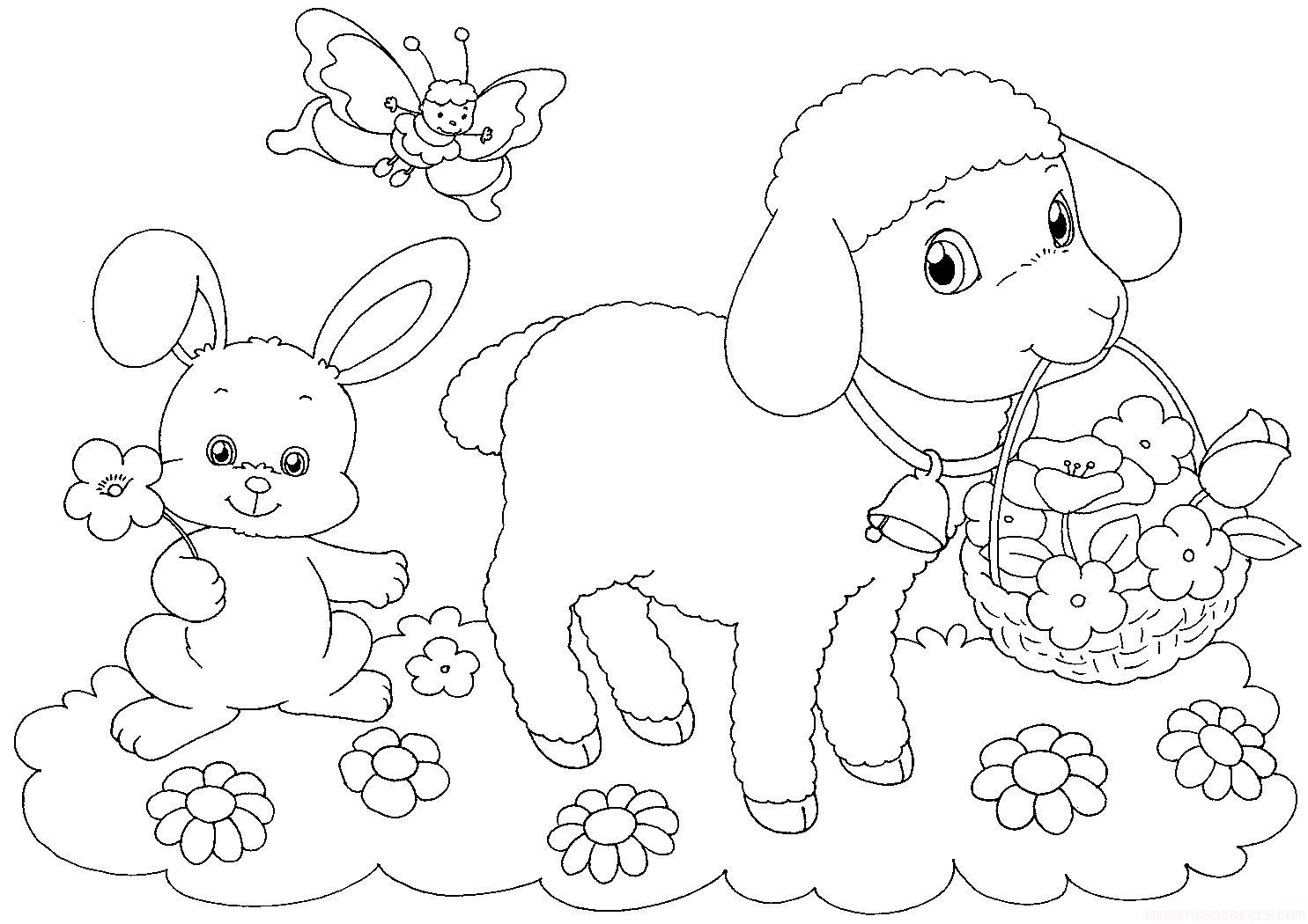 ovejitas & ovejitas para colorear - Buscar con Google | Dibujos ...