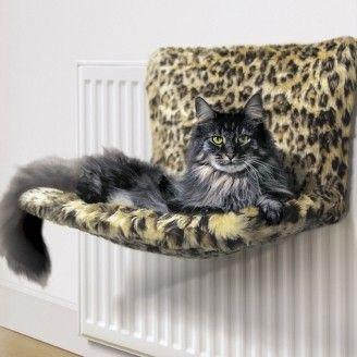 danish design kumfy kradle cat radiator bed hammock cradle leopard print   ebay danish design kumfy kradle cat radiator bed hammock cradle leopard      rh   pinterest