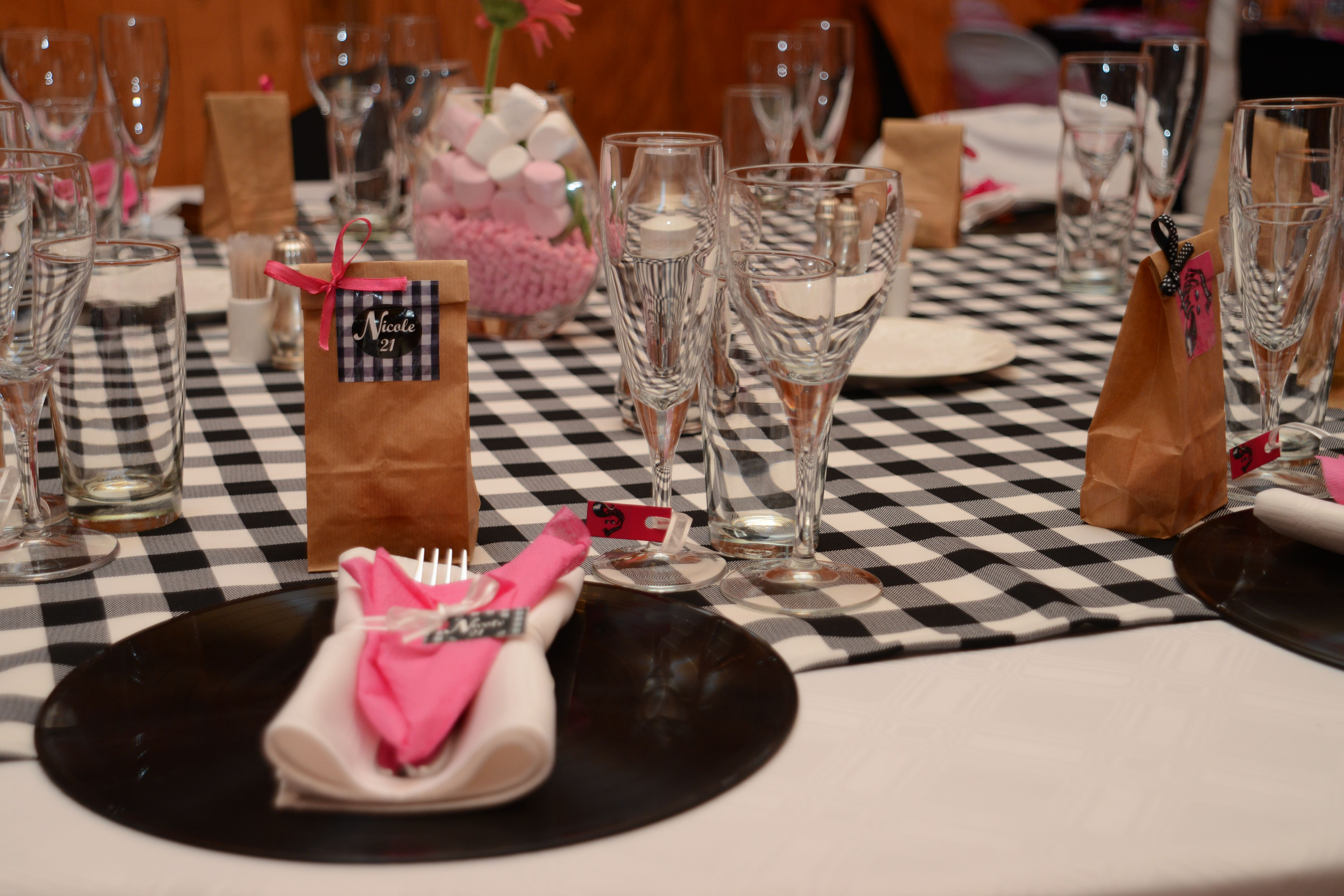 Grease 21 party Theme