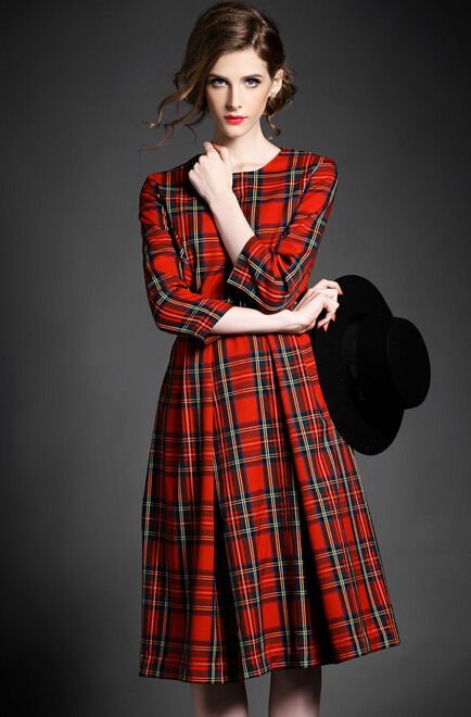 4a8ae06669 Pin by Elvy Rogers on Tartans in 2019 | Tartan fashion, Tartan dress ...