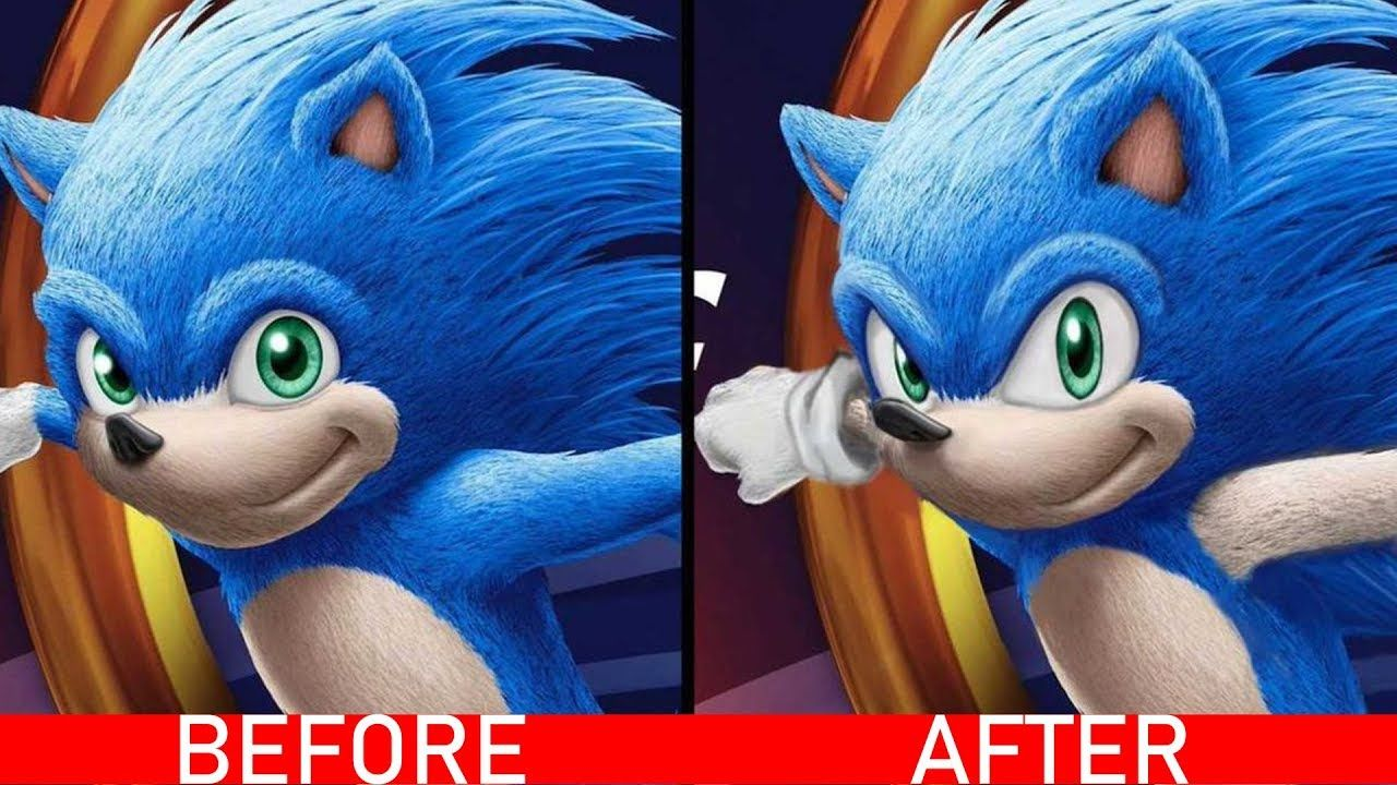 Sonic The Hedgehog Improved Movie Trailer Sonic The Hedgehog Fas Jim Carrey