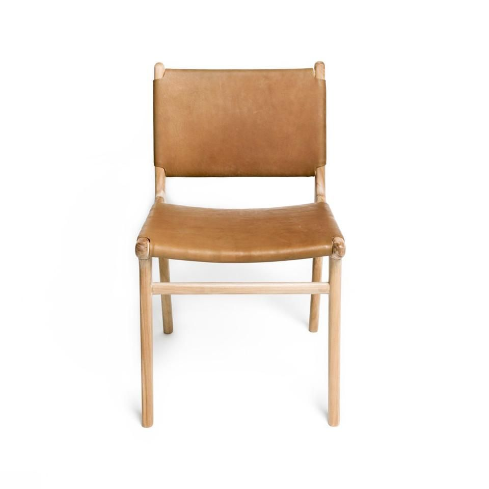 Spensley Dining Chair Oak Tan In 2020 Dining Chairs Leather Dining Chairs Leather Dining Room Chairs